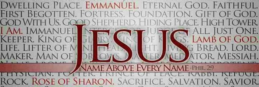 Therefore God exalted Him to the highest place and gave Him the name that is above every name, that at the name of Jesus every knee should bow, in heaven and on earth and under the earth, and every tongue confess that Jesus Christ is Lord, to the glory of God the Father. (Philippians 2:9-11)